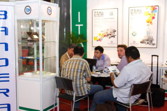 Plastics & Rubber Indonesia: Conducting active business meetings with industry professionals.