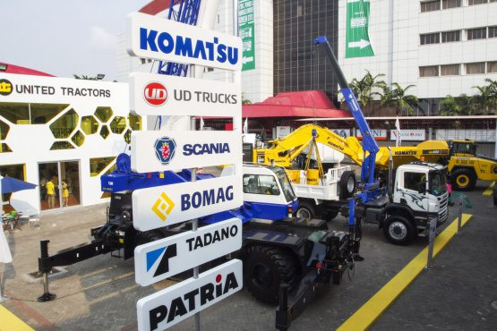 Truck Indonesia: Attended by major international manufacturers.